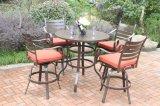 Hot Cast Aluminum 5 PC High Dining Patio Set Furniture