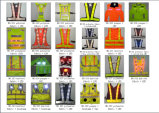 Manufacturer Wholesale LED Flashing OEM Reflective Safety Vest