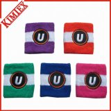 Cotton Terry Promotion Headband Sweatband with Embroidery Logo
