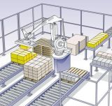 The Chemical Industry Automatic Palletizing Robot