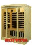 2016 Far Infrared Sauna Room Portable Wood Sauna for 3 People (SEK-I3)
