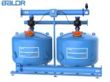 Double-Chamber Two Cylinder 30 Inch Quartz Sand Media Filtration Equipment /Irrigation Filter for Large Flow Rate