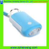 Emergency Panic Personal Alarm with Keychain LED Light for Lady Children