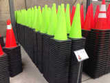 Lime Green PVC Traffic Safety Cones
