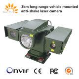 Vehicle Mount Mobile Surveillance Anti-Bumping PTZ IP Laser Infrared Camera