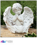 Hand Carving White Marble Little Angel Statue