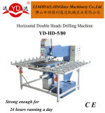 CE Horizontal Double Heads Glass Drilling Machine