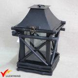 Portable Antique Garden Wooden Lantern