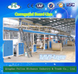 3/5/7-Layer Medium Speed Corrugated Paperboard Production Line