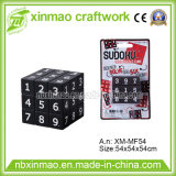 5.4cm Sudo Puzzle Cube with Blister Card Packing