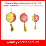 Christmas Decoration (ZY11S365-D-Z-X) Ball for Christmas Gifts