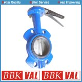 Wras Approved Wafer Type Centric Butterfly Valve