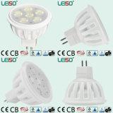 6W Standard Size 400lm Dimmable MR16 LED Spot Light (LS-S505-MR16-ED-EWWD/EWD)
