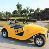 Skilled Manufacturer Ce Approval 4 Passengers Electric Nostalgia Car (DN-4D)