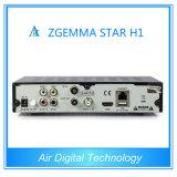 Powerful HD Receiver Zgemma-Star H1 DVB-S2+C Twin Tuner Enigma2