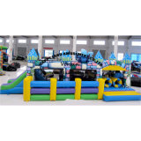 Castle Inflatable Soft Playground Obstacle Course