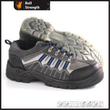 Industrial Leather Safety Shoes with Steel Toecap (Sn5385)