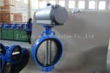 Pneumatic Actuated Wafer Type Butterfly Valve with Ce ISO Wras Approved