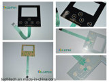 Silver Contact Points No Touch Feeling Flat Membrane Switch (MIC-0178)