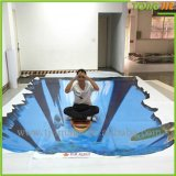 Fancy Design 3D Floor Vinyl Graphic Sticker Printing