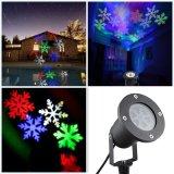 Christmas Snow Flake LED Projection Laser Light