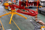 Hgy Series Trailer Mobile Concrete Distributor Arms with 13m 15m 17m 23m Placing Radius