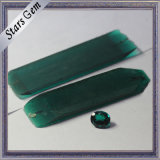 Top Grade Russia Import Synthetic Emerald Rough for Gemstone