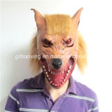 Halloween Costume Full Head Latex Wolf Animal Head Mask