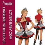 Queen of Hearts Costume Fairy Princess Costume (L1252)