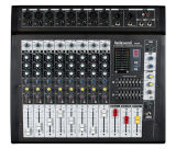 USB Input 8 Channel Professional Mixing Console Pmx8