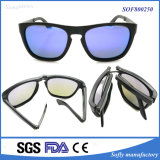 Top Quality Portable Foldaway Eyewear Fashion Designer Coating Sunglasses