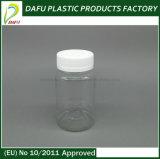 Plastic Products 120ml Pet Clear Plastic Medicine Bottle