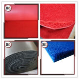 15mm Thick Loop Pile Foam Backing PVC Coil Mat in Roll as Flooring