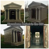 Cheap Granite 6 Crypts Private Mausoleum for Sale
