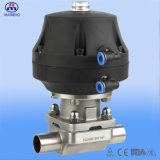 Sanitary Stainless Steel Pneumatic Diaphragm Valve with CE ISO 3A Certification