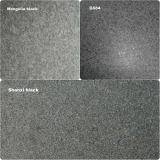 Natural/Cheap/Affordable/Flamed/Black Granite Tiles Mengolia Black/Shanxi Black/G684 for Square Flooring/Step Riser/Paver