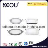 Recessed Round&Square LED Panel Light Hot Sale Super Slim Embedded LED Ceiling Light