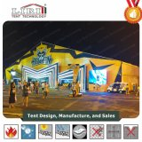 50m Clear Span Aluminum Frame Exhibition Marquee Tent for Sale