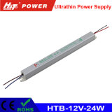 12V 2A LED Ultra-Thin Power Supply with Ce RoHS Htb-Series