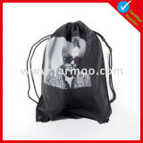 Printed Advertising Nylon Backpack String Bag