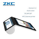 Wireless Portable 1d 2D Scanner POS Tablet Terminal for Restaurant