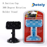 360 Degree Rotation 8 Suction Cups Adsorption Car Phone Holder Sucker Stand for GPS Pad