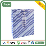Blue Tie Candy Snacks Cake for Kids Coated Paper Bag