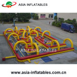 Outdoor Inflatable Football Dribble Zone Sports