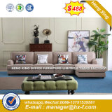 Brown Color 1+1+3 Sets Leather Office Sofa (HX-SN8051)