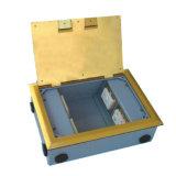 250*180mm Rectangle Golden Side Insert Open Type Floor Socket