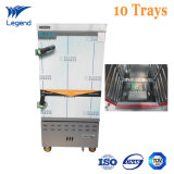 10 Trays Gas Stainless Steel Restaurant Food Steamer Suppliers