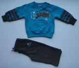 Children′s Fleece Pullover Jogging Set