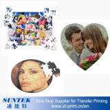 Sublimation MDF Magnetic Jigsaw Puzzle Kids DIY Toys