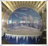 Custom Made Wonderful Painting Backdrop Inflatable Snow Globe for Sale